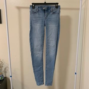 American Eagle Blue Skinny Jeans FINAL PRICE